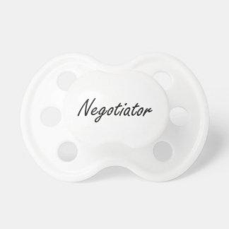 Negotiator Artistic Job Design BooginHead Pacifier
