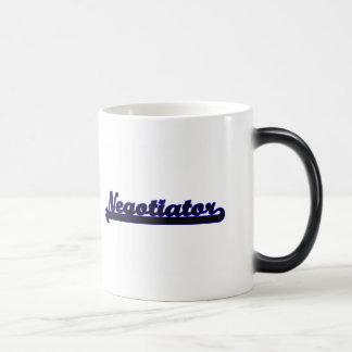 Negotiator Classic Job Design 11 Oz Magic Heat Color-Changing Coffee Mug
