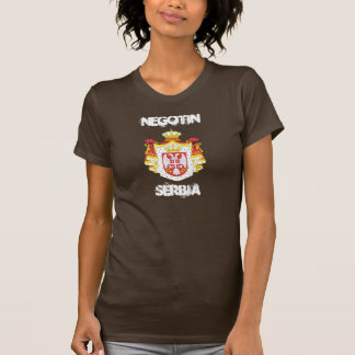 Negotin, Serbia with coat of arms T-Shirt