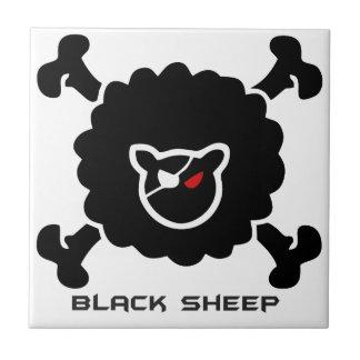 Negra sheep ceramic tile