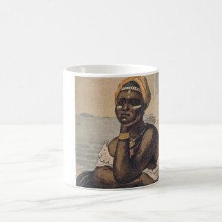Negra vendendo caju (Black female selling cashews) Coffee Mug