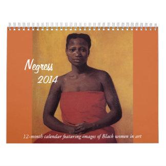 Negress 2014 calendario