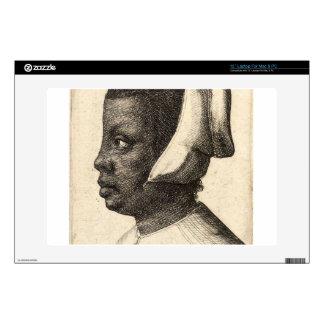 """Negress by Wenceslaus Hollar Skin For 13"""" Laptop"""