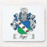 Negri Family Crest Mouse Mat