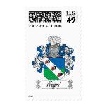 Negri Family Crest Stamp