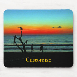 Negril Beach Sunset Mouse Pad