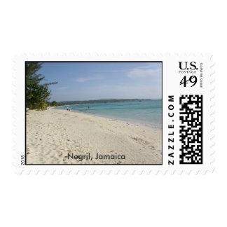 Negril, Jamaica Postage
