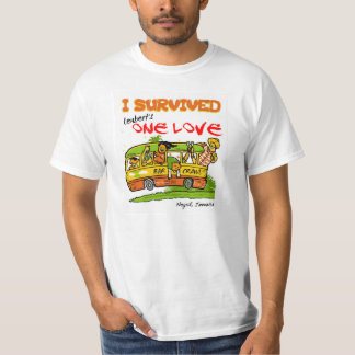 Negril una camiseta del arrastre de la barra del remeras