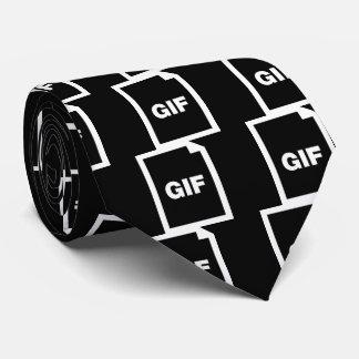 Negrita del GIF mínima Corbatas Personalizadas