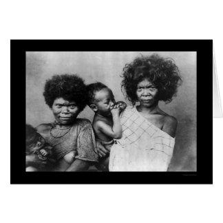 Negrito Women Philippines 1898 Card