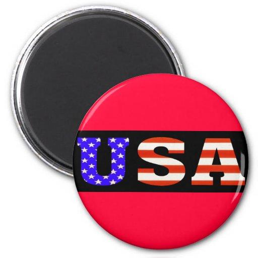 Negro 11x3 de los E.E.U.U. Imanes Para Frigoríficos