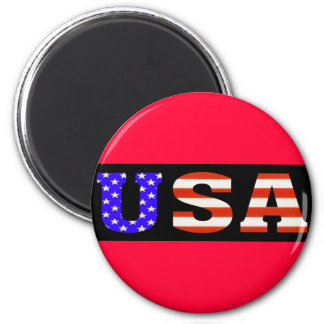 Negro 11x3 de los E.E.U.U. Imán Redondo 5 Cm