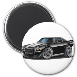 Negro 1970-73 de Camaro/coche blanco Imán Redondo 5 Cm