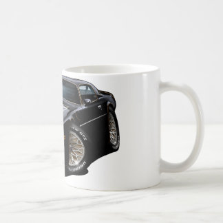 Negro 1977-78 del transporte taza de café