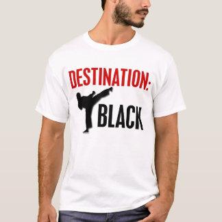 Negro 1 del destino playera