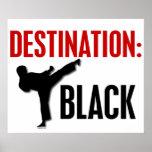 Negro 1 del destino poster
