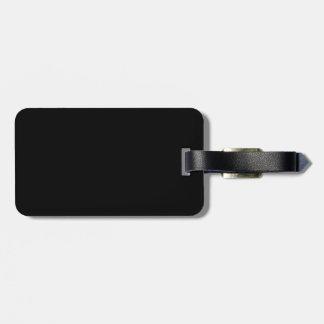 negro 8 x diseño 11 su propio producto etiquetas de equipaje