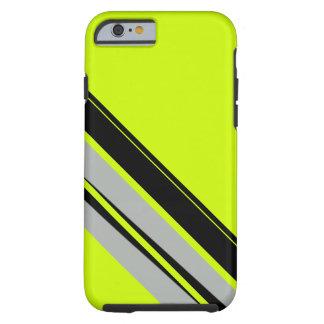 Negro amarillo chartreuse CricketDiane deportivo Funda Resistente iPhone 6