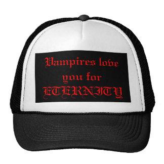 negro, amor de los vampiros usted para la ETERNIDA Gorro