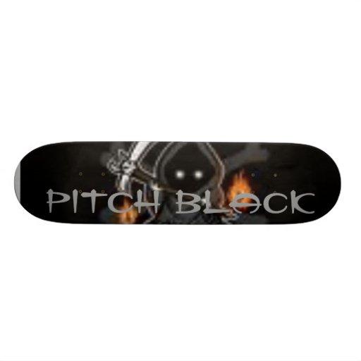 negro azabache patineta personalizada