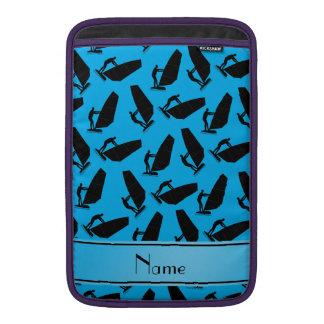 Negro azul conocido personalizado de cielo fundas macbook air