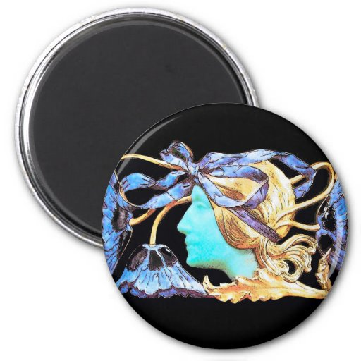 Negro azul de la BELLEZA ELEGANTE Iman