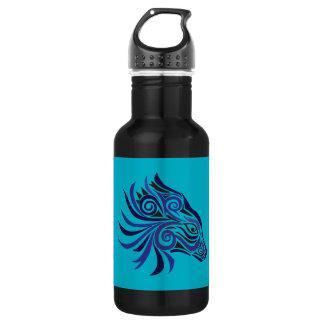 Negro azul del tatuaje tribal del caballo
