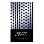 Negro azul-gris suave elegante elegante de la pend tarjetas de visita