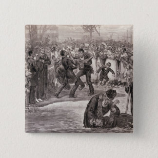 Negro Baptism in the United States Button