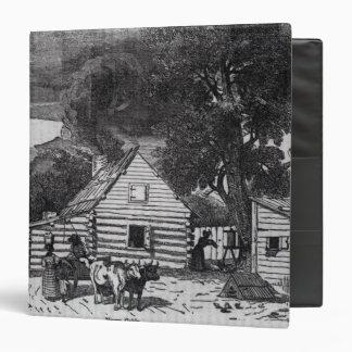 Negro Cabin Binder