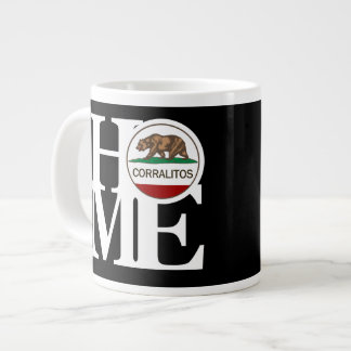 Negro CASERO de la taza de Corralitos 20oz Taza Grande