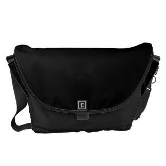 Negro clásico pesado original de la bolsa de mensa bolsa de mensajeria