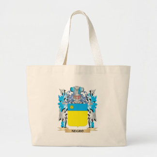 Negro Coat of Arms - Family Crest Bag