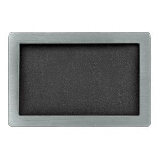 Negro con las hebillas del cinturón de la mirada d hebillas de cinturón rectangulares