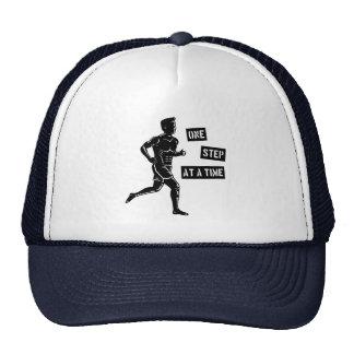 Negro corriente de motivación de la cita del gorra