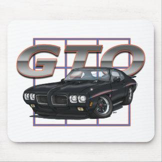 Negro de 1970 GTO Tapete De Raton