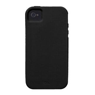 Negro de Badass (y personalizable) iPhone 4 Funda