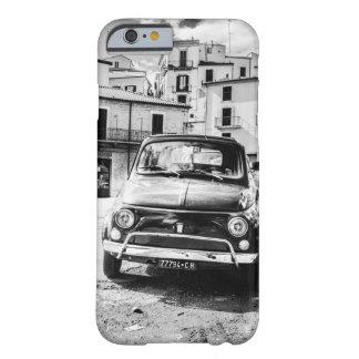 Negro de Fiat 500 + Blanco, Roma, Italia, caso de Funda De iPhone 6 Barely There