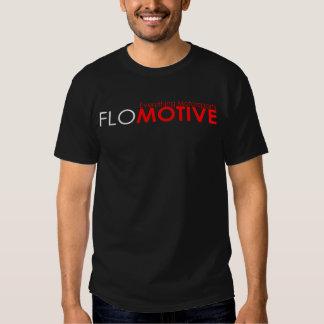 Negro de Flomotive Camisas