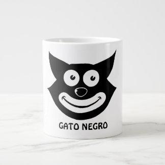 Negro de Gato Taza Extra Grande