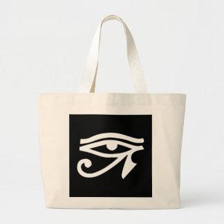 Negro de Horus del Ra del ojo Bolsas