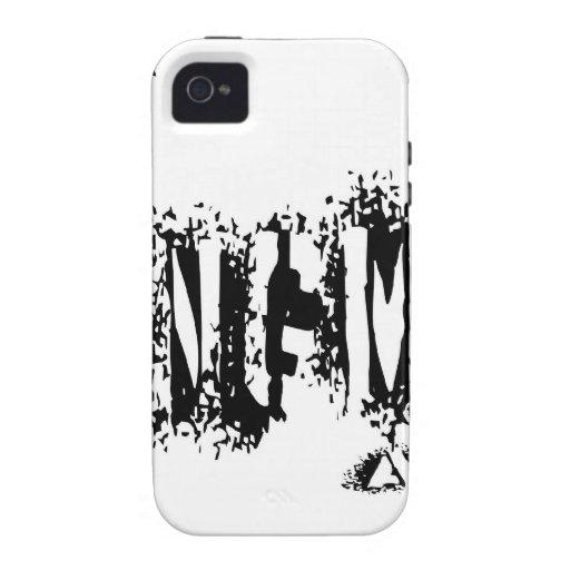 Negro de Kingman Arizona Vibe iPhone 4 Carcasa