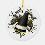 Negro de la alegría y ornamento de la foto de las  ornamente de reyes