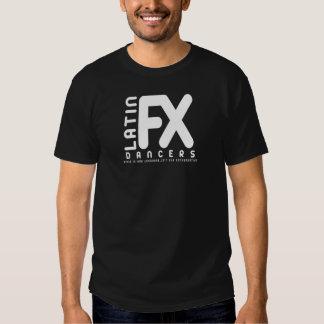 Negro de la camisa de los bailarines de LFX