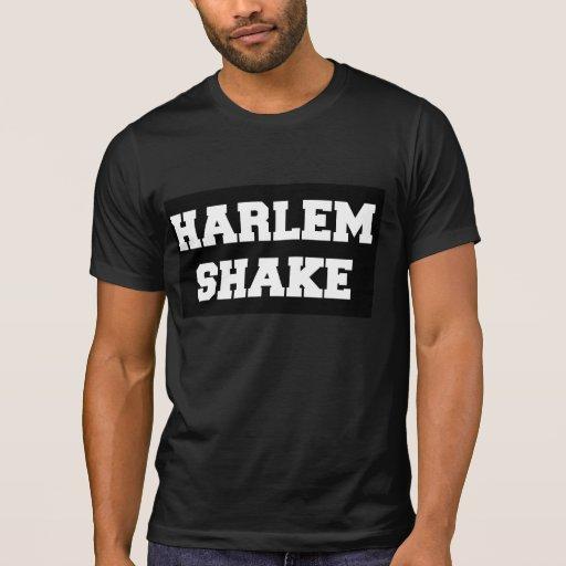 Negro de la camiseta de la sacudida de Harlem