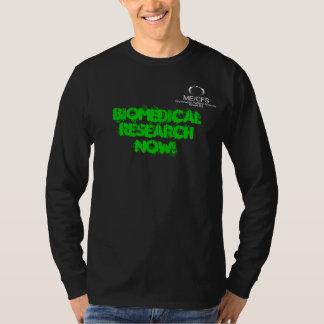 Negro de la camiseta de MCWPA LS Polera