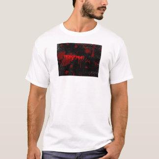 Negro de la camiseta de Teqnofreaq