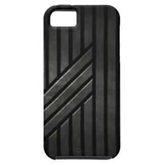 Negro de la cautela iPhone 5 Case-Mate cárcasa