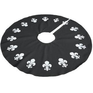 Negro de la flor de lis