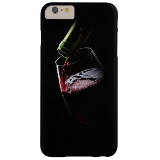 Negro de la foto el   del vino rojo funda de iPhone 6 plus barely there